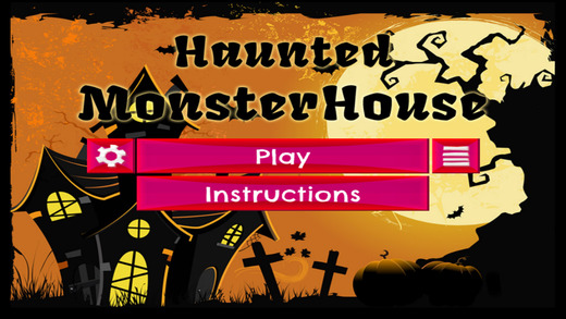 Haunted MonsterHouse - PRO - Slide Rows And Match Haunted House Ghouls Puzzle Game