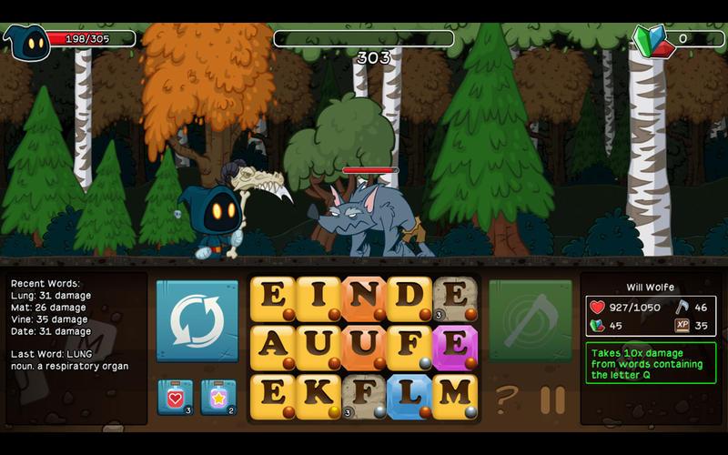 Letter Quest Screenshot - 1