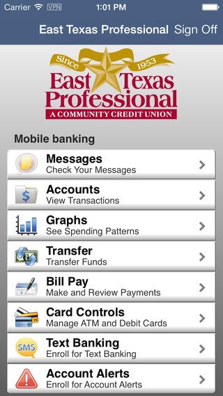 East Texas Professional Credit Union