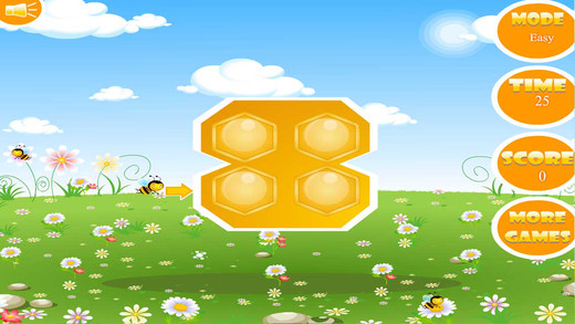 Bee Hive - Kids Puzzle Game Bee Go Home