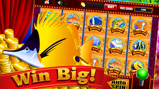 Play the Fish Slots Machine and Win Big Money Casino Games FREE
