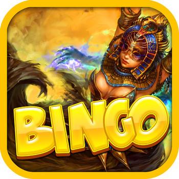 Bingo Pharaoh's Heaven: A Bingo Adventure for 2016 Casino Game Pro! 遊戲 App LOGO-硬是要APP
