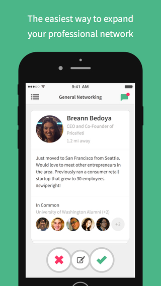 Weave: Local Professional Networking