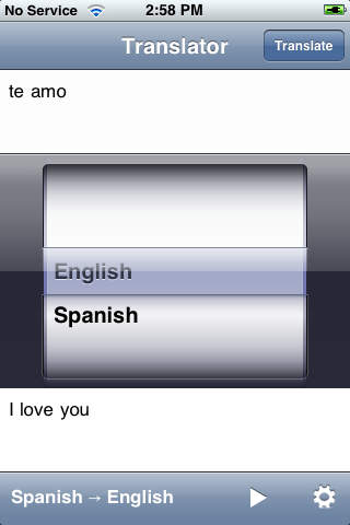 English Spanish Translator with Voice screenshot 3