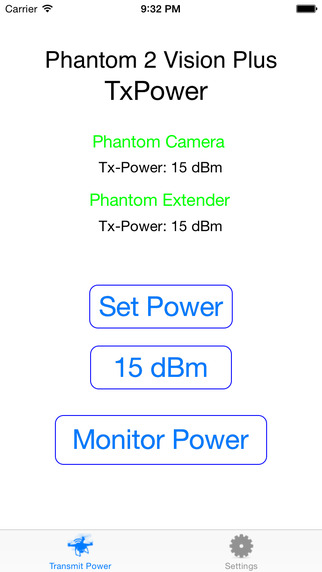 DJI Phantom 2 Vision Plus TxPower Booster