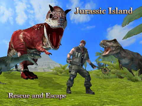 Jurassic Island Rescue and Escape Proscreeshot 1