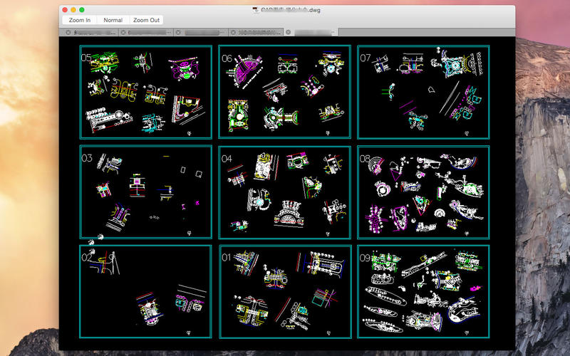 DWG File Viewer Screenshot - 2