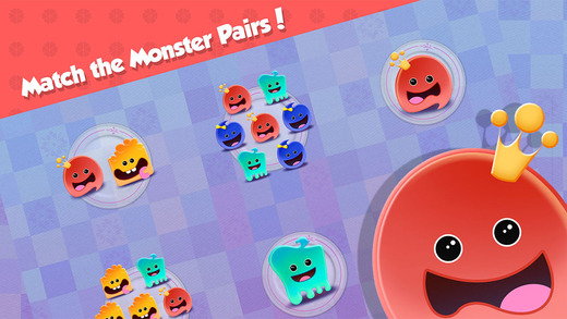 Learn to Count 1234 with Monsters - Number Counting Quantity Match for Kids FREE