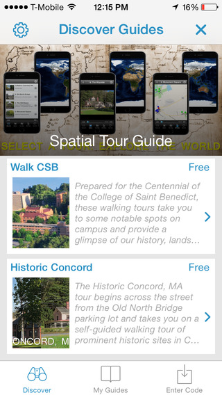 Tour Apps Guide