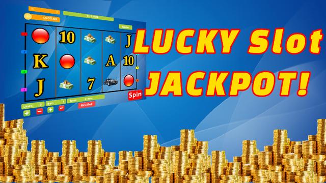 Lottery Slots Themed 5-Reels Video Slots Vegas Strip VIP Casino