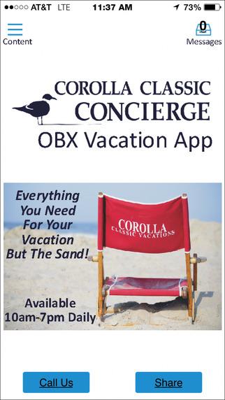 Corolla Classic Concierge