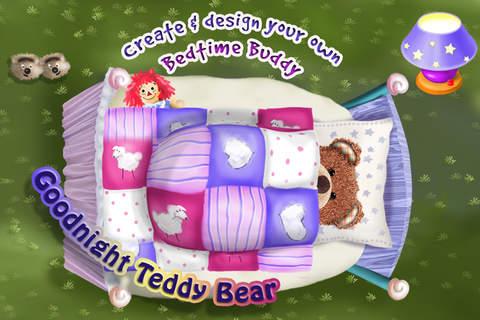 iphone Goodnight Teddy Bear - Build & Dress Up Your Toy Bears - Go To Sleep With Sweet Dreams Screenshot 0