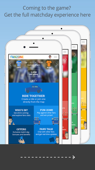 FanZone – The Ultimate Matchday Experience for Sports Fans