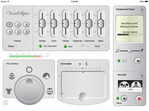VocalStyler with Voice Changer Recorder
