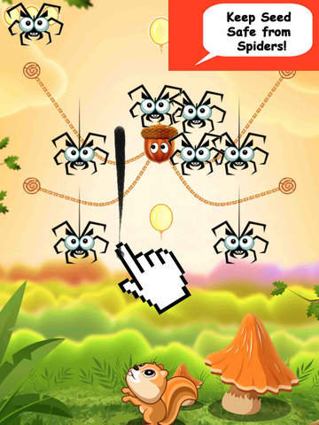 Cut Ropes And Feed The Squirrel - New Puzzle Physics Game PRO Screenshots