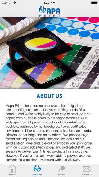 Mapa Print