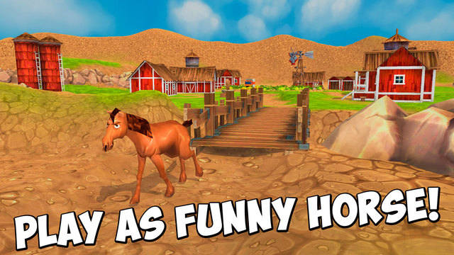 Farm Horse Survival Simulator 3D Full