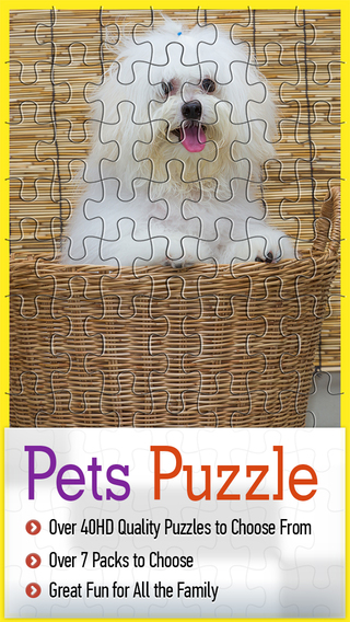 My Pet Jigsaw Free Animated-Real Puzzle 4 Kids And Toddlers