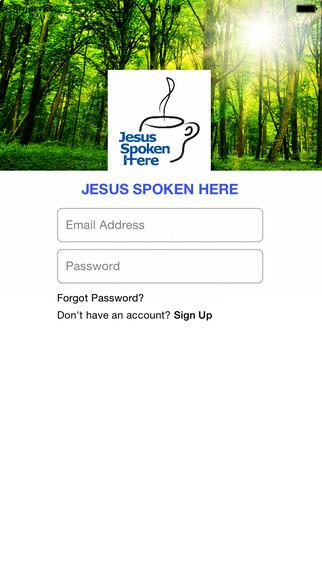 Jesus Spoken Here