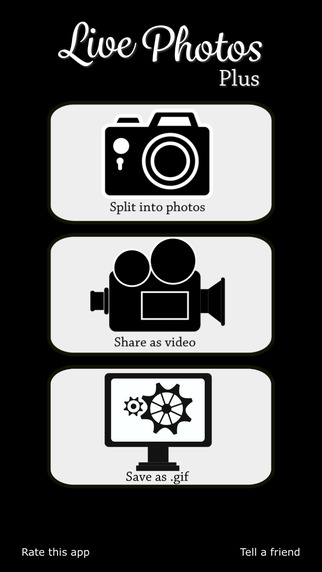 Splitter: for Live Photos