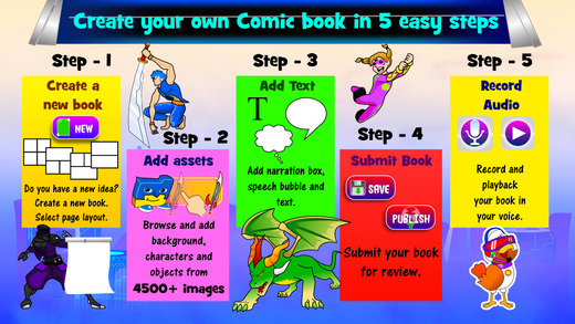 Comicker - The Real Comic Maker