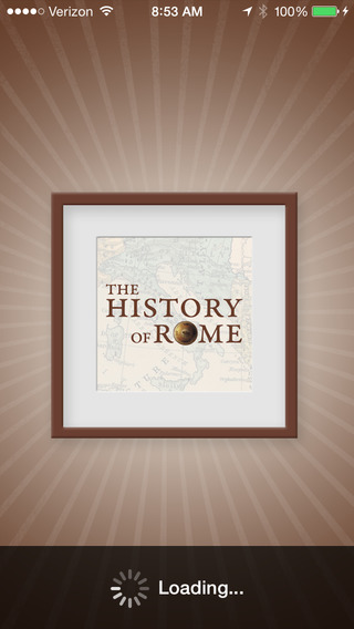 The History of Rome – Audio Podcast App iPhone Screenshot 1