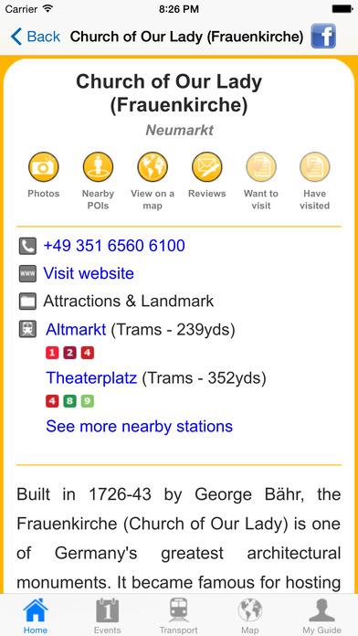 Dresden Travel Guide Offline iPhone Screenshot 5