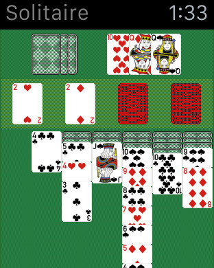 Solitaire Watch Screenshots