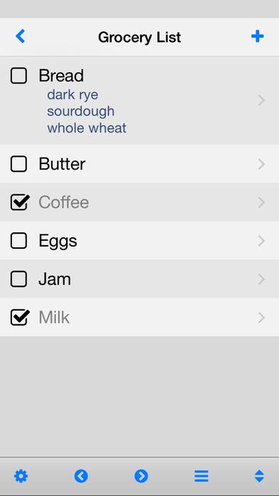 Simplist iPhone Screenshot 2