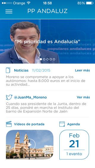 Juanma Moreno - PP Andaluz - Aplicación Oficial