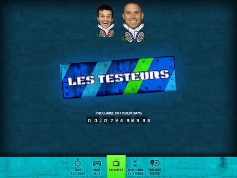 Les Testeurs pour iPad