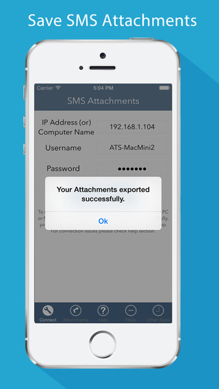 Save SMS Attachments - Export attachments of SMS or MMS