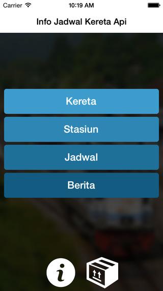 Info Jadwal Kereta Api