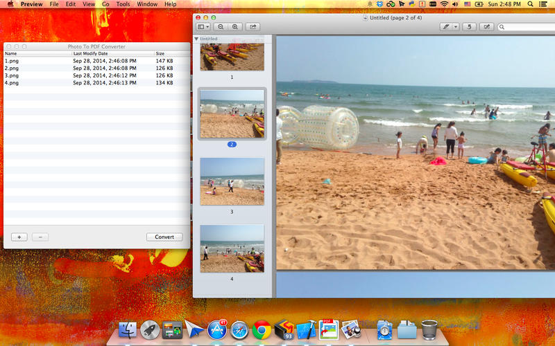how to add photo to pdf mac