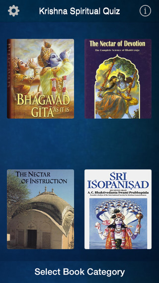 Spiritual Quiz iPhone Screenshot 1