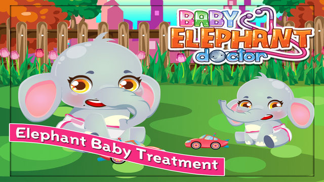 Baby Elephant Care - Free Game For Kids and Adults
