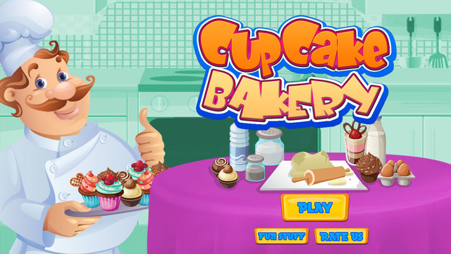 Cupcake Bakery – Crazy cake cooking and kitchen chef game for kids