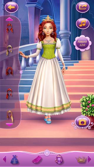 Dress Up Princess Sleeping Beauty