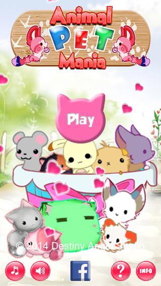 【免費遊戲App】Animal Pet Mania-APP點子