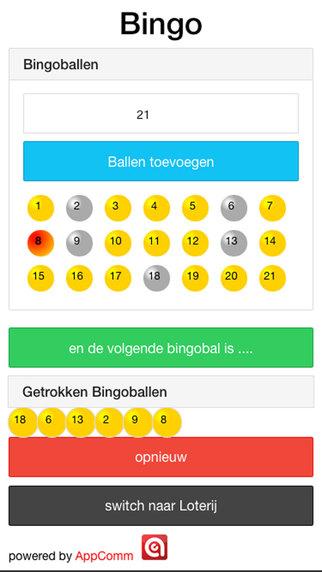 Loterij Bingo