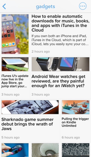 Newsify: Your News Blog RSS Feed Reader App - Free iPhone iPad News Apps for reading Sports Tech Bus