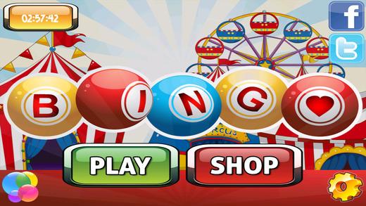 AAA Bingo Circus - Daub and Win Powerups