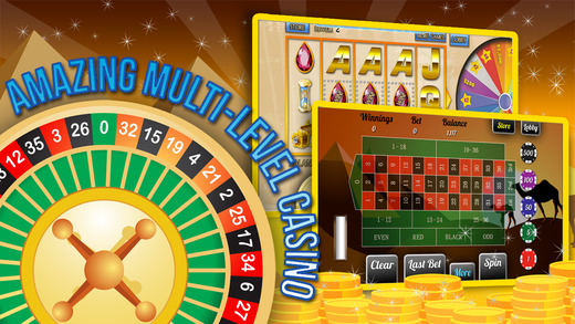 Egyptian Blackjack Blitz with Poker Mania Gold Slots and More