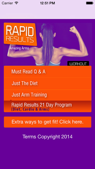 Arm Workouts: amazing arms rapid results.