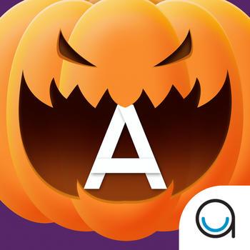 Pumpkin Trace Halloween: Uppercase Alphabet Tracing Playtime for Kids FREE LOGO-APP點子