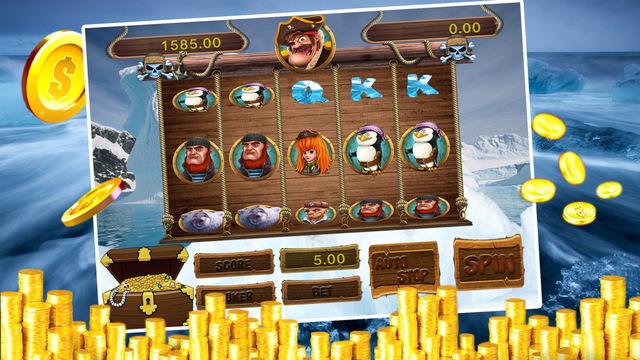 AAA Sin Pirate Casino - Las Vegas Style with Wheel of Fortune Bingo