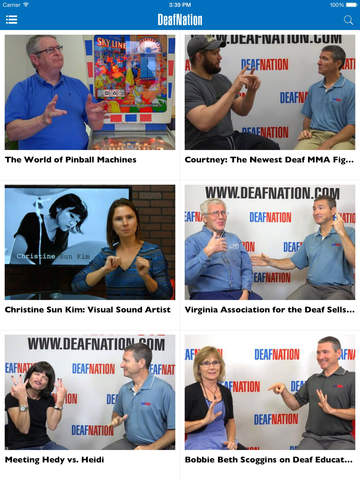 DeafNation Mobile screenshot
