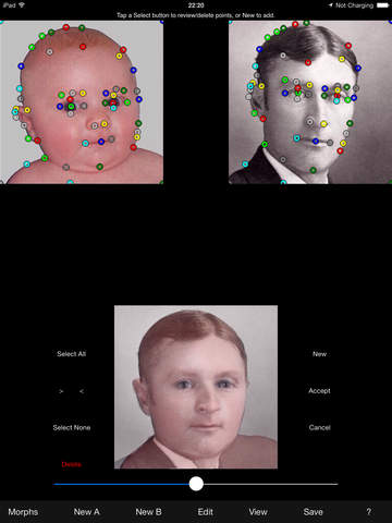 Screenshots for x2yMorph