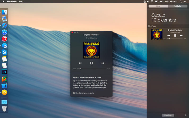 MiniPlayer Screenshot - 2