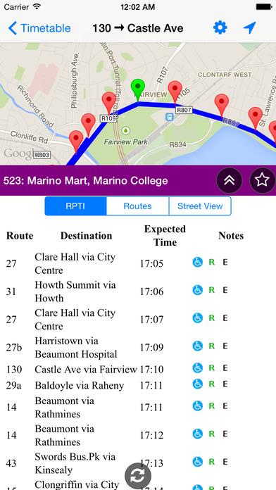 Dublin Bus Timetables iPhone Screenshot 4